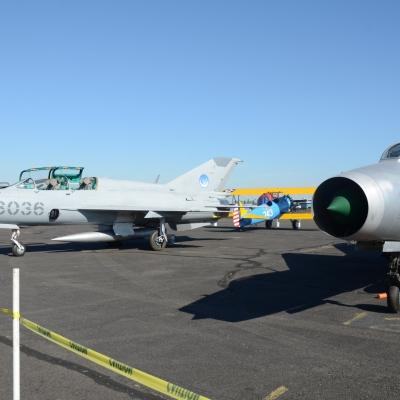 12 MiG-21F-13 Fishbed