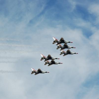 176 U.S. Air Force Thunderbirds