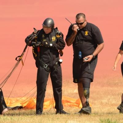 20 U.S. Army Golden Knights Parachute Team