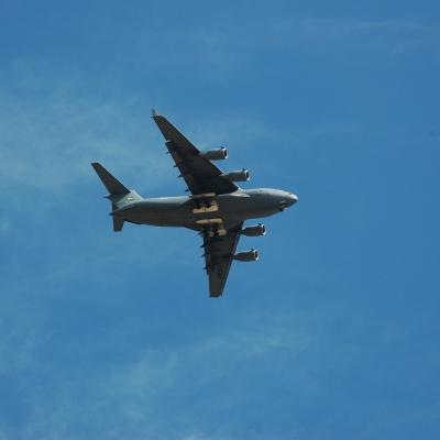 79 U.S. Air Force C-17 Globemaster III flyby