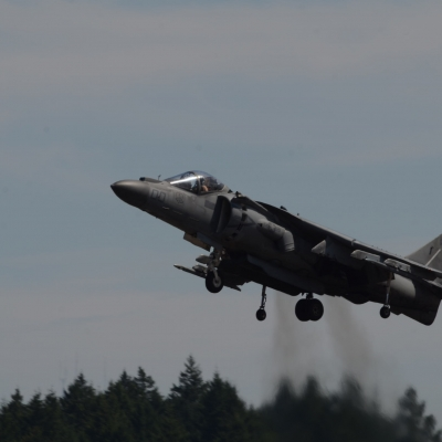 82 U.S. Marine Corps AV-8B Harrier II Demo