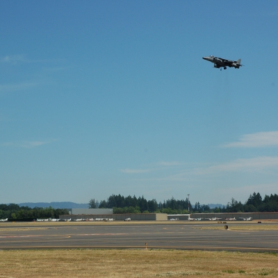 83 U.S. Marine Corps AV-8B Harrier II Demo