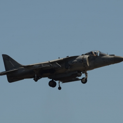 87 U.S. Marine Corps AV-8B Harrier II Demo