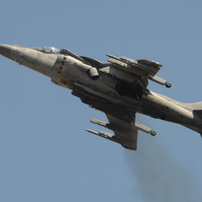 89 U.S. Marine Corps AV-8B Harrier II Demo