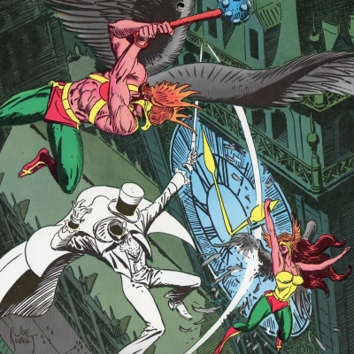 Hawkman by Joe Kubert