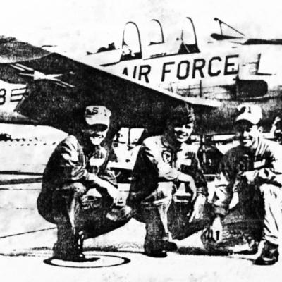 Major Van Trinh with Flight Buddies, circa 1969