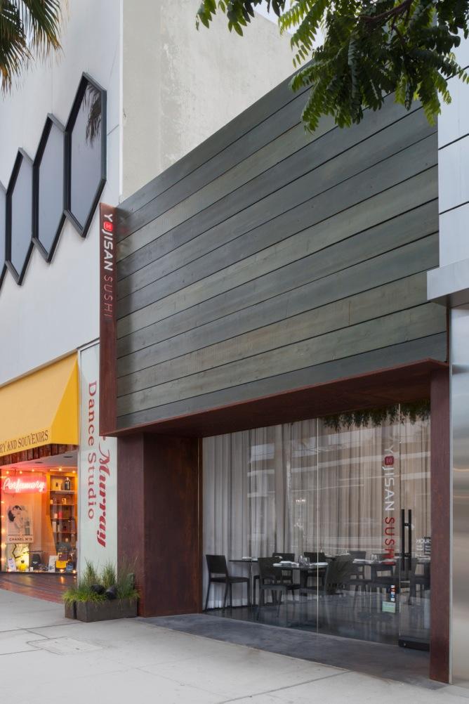 Yojisan Sushi Restaurant Dan Brunn Architecture Updated