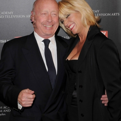 Tony with wife Donna at BAFTA Los Angeles 2010 Britannia Awards