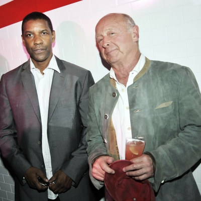 Tony and Denzel at The Taking Of Pelham 1 2 3 premiere