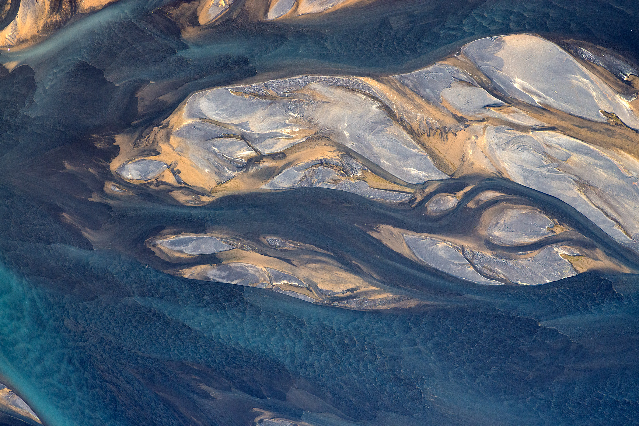 Aerial Photos Of Iceland Volcanic Rivers Andre Ermolaev
