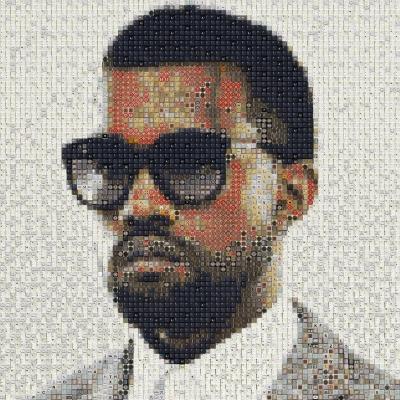 Kanye West by workbyknight