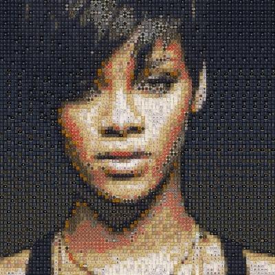 Rihanna by workbyknight