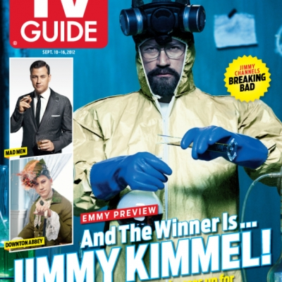 TV Guide / Jimmy Kimmel x Breaking Bad
