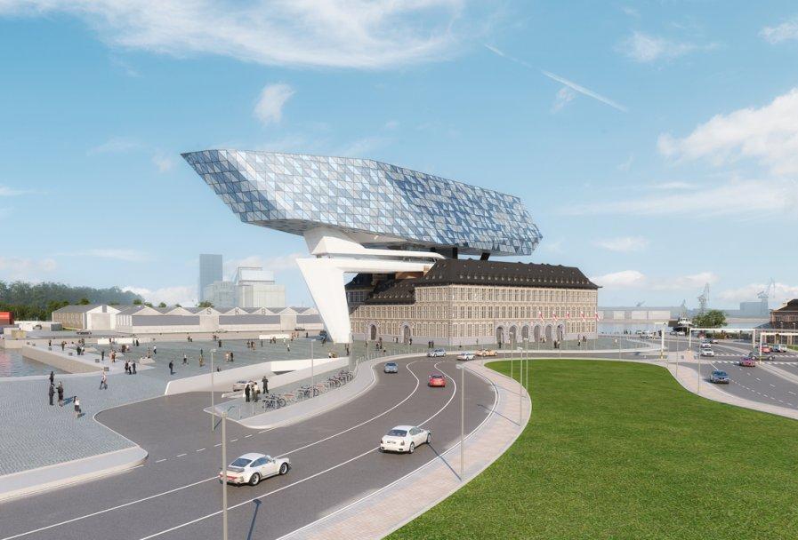 Antwerp, Architecture, Belgium, Zaha Hadid Architects,