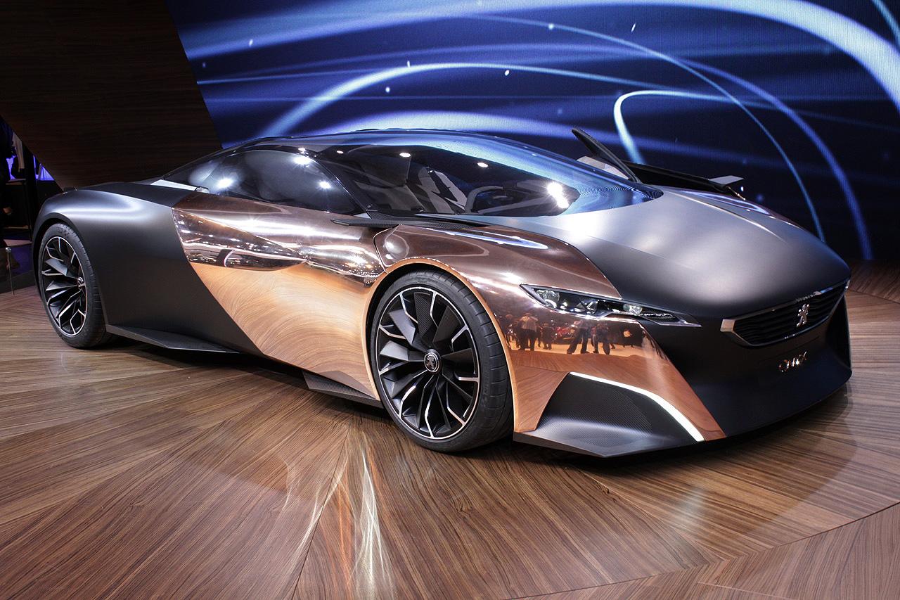 peugeot onyx concept car the superslice. Black Bedroom Furniture Sets. Home Design Ideas