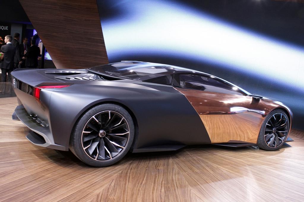 Onyx Car Parts : Peugeot onyx concept car the superslice