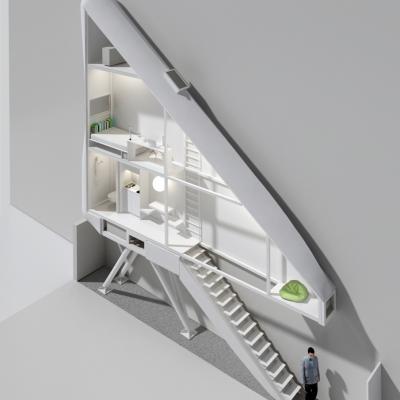 Keret House rendering © Centrala