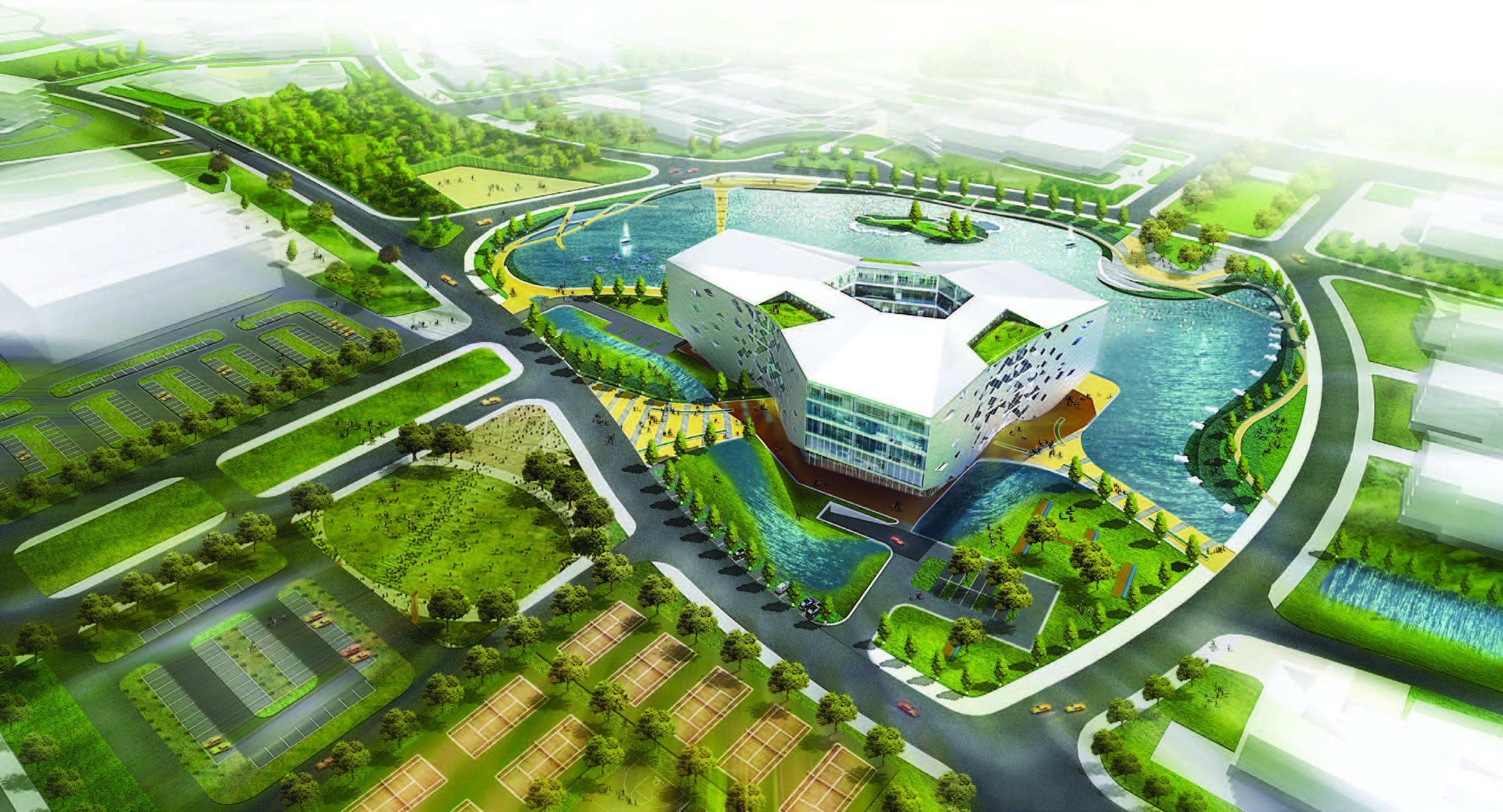 Jiaxing college library and media center lycs for Architecture colleges