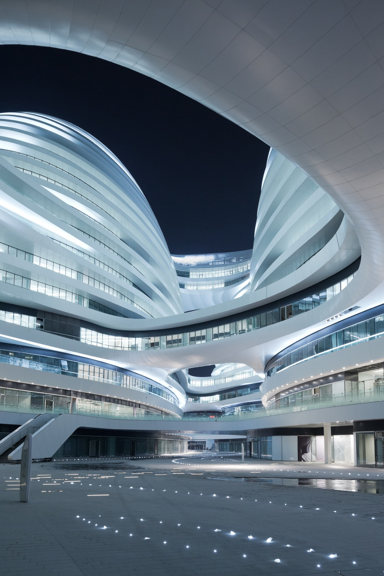 Galaxy soho zaha hadid architects updated the superslice for Architecture zaha hadid