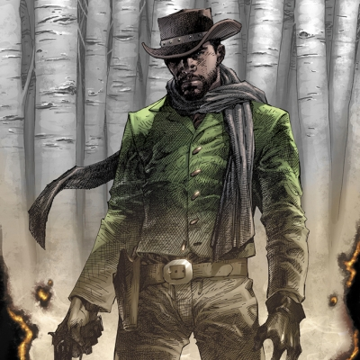 Django Unchained #1 Variant by Jim Lee