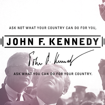 Thirty-Fifth President John F. Kennedy (1961-1963)