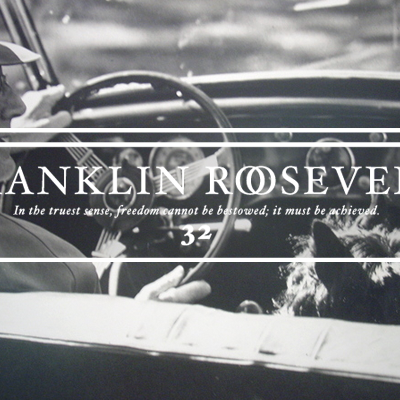 Thirty-Second President Franklin Roosevelt (1933-1945)