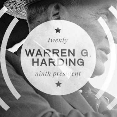 Twenty-Ninth President Warren G. Harding (1921-1923)