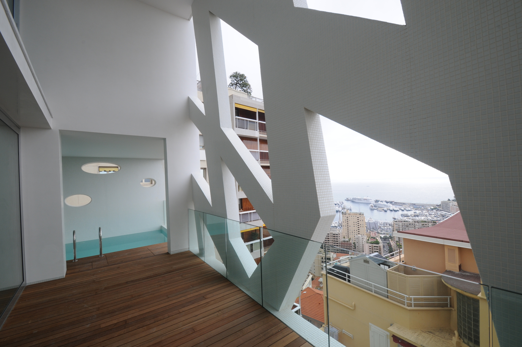 The simona jean pierre lott architecte the superslice for Appartement architecte