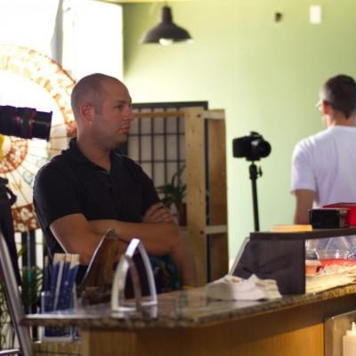 Monster Roll - production shot (director Dan Blank)