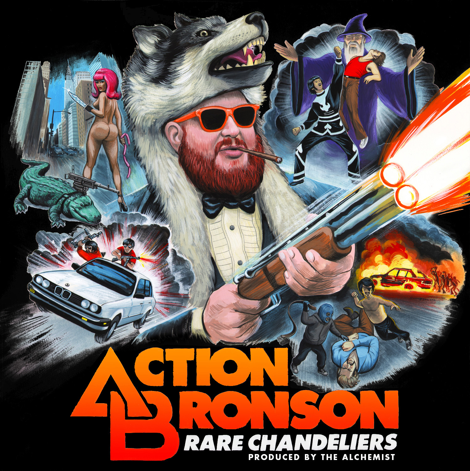 Soundsystem Rare Chandeliers Mixtape Action Bronson The