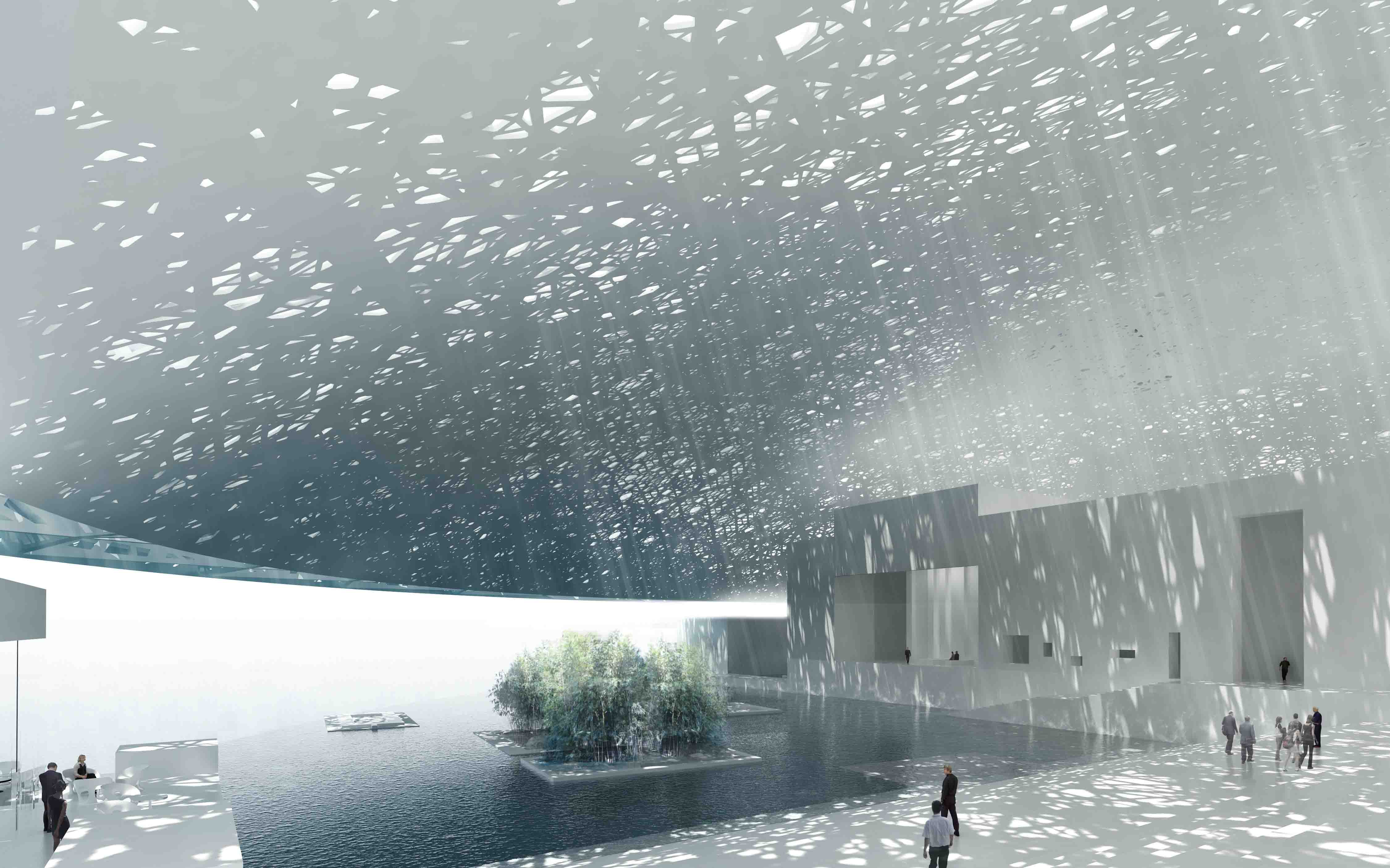The louvre abu dhabi museum ateliers jean nouvel the for Architecture jean nouvel