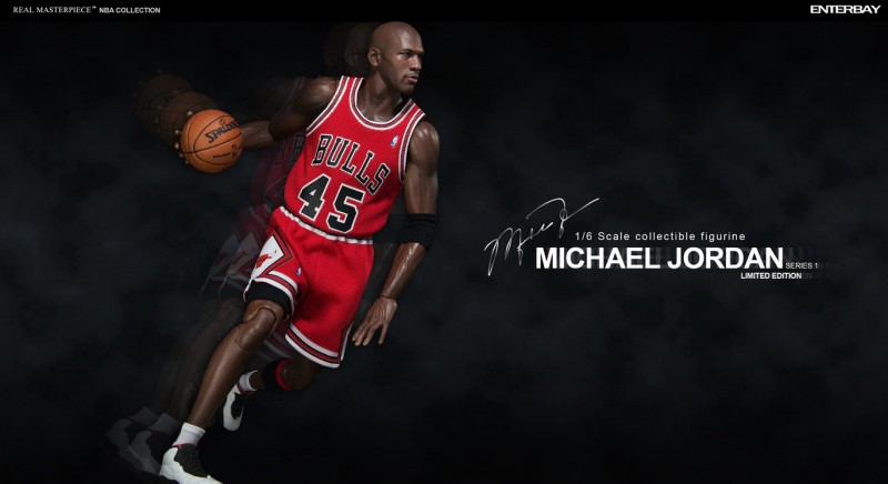 1a2a1c358fb Limited Edition Michael Jordan 1 6 Scale Action Figures   Enterbay ...