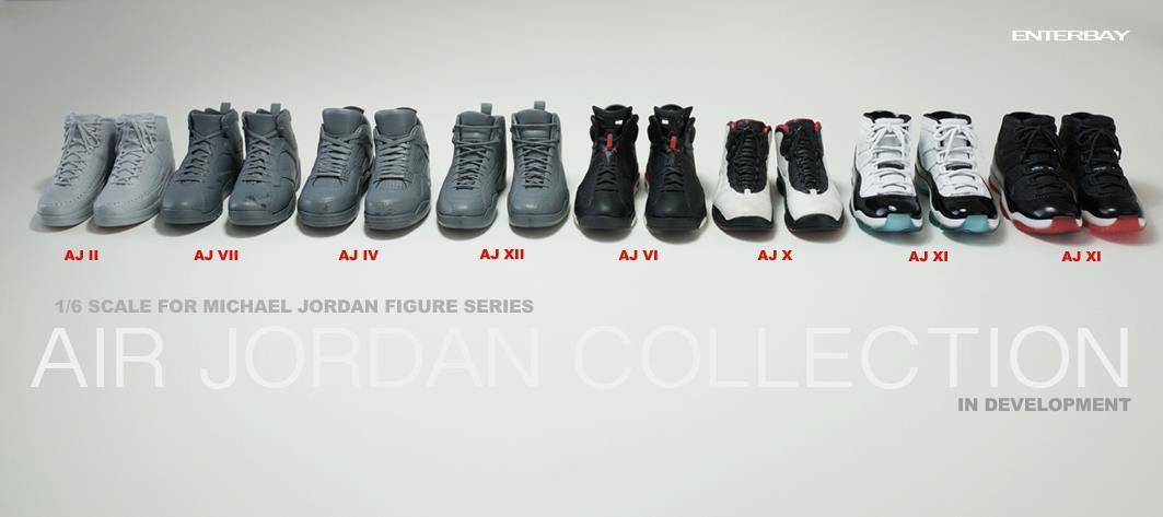 Limited Edition Michael Jordan 16 Scale Action Figures Enterbay