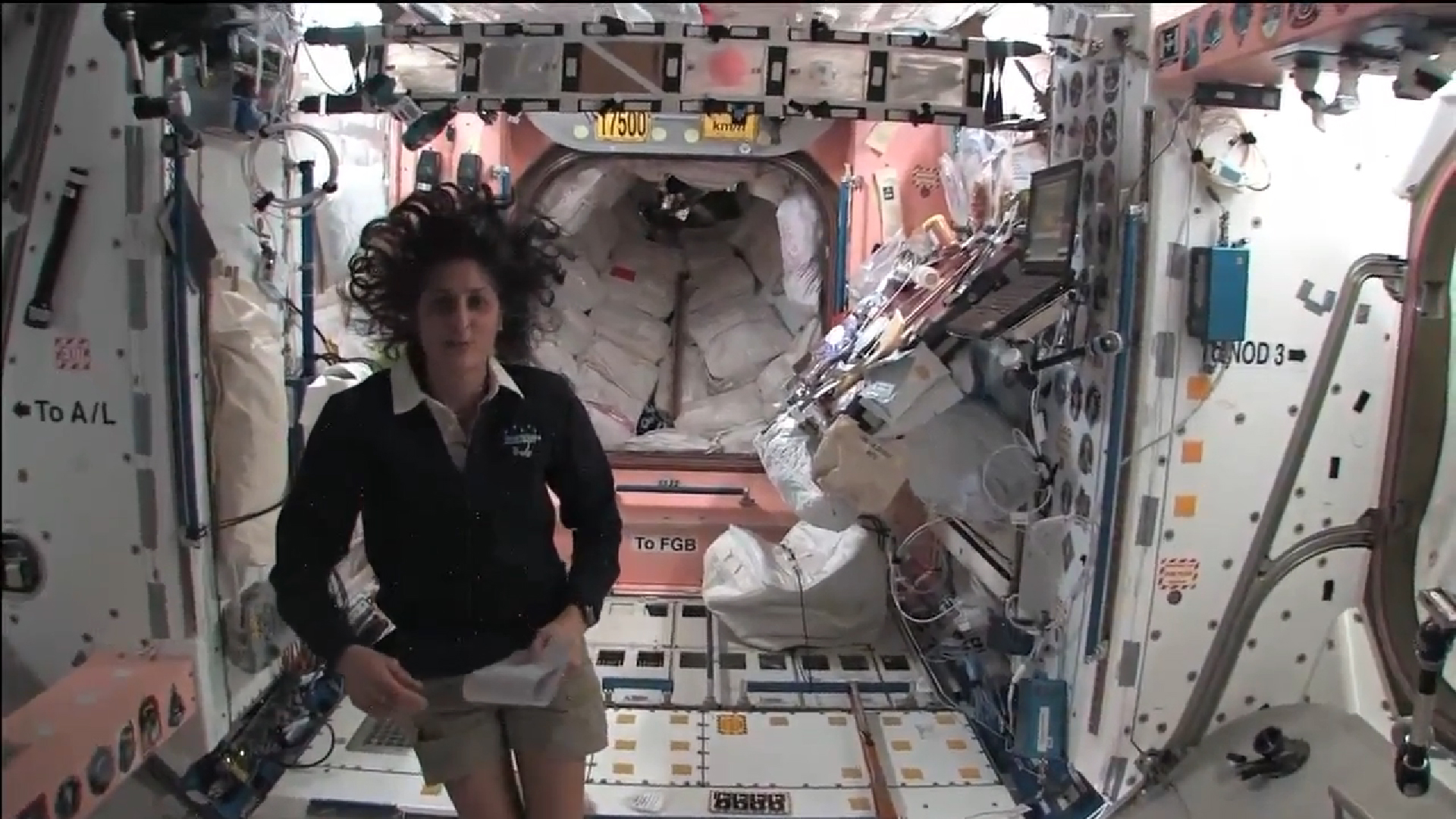 sunita williams in space station-#24
