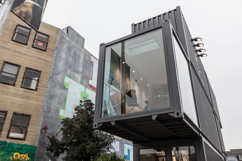 Aether Apparel Shipping Container Store In San Francisco