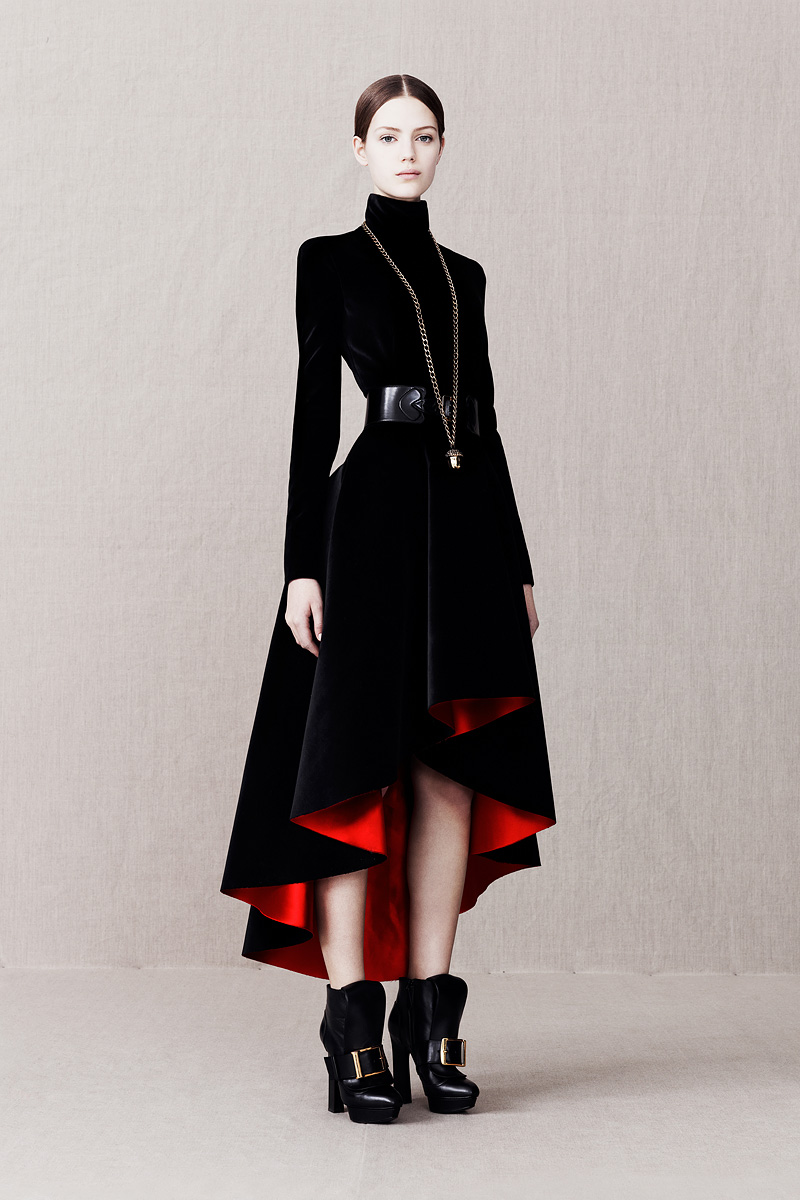 Pre fall 2013 collection alexander mcqueen sarah burton for Mac alexander mcqueen