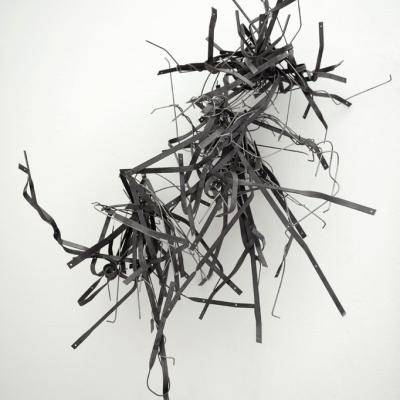 Genova - museo di arte contemporanea di Villa Croce - la mostra