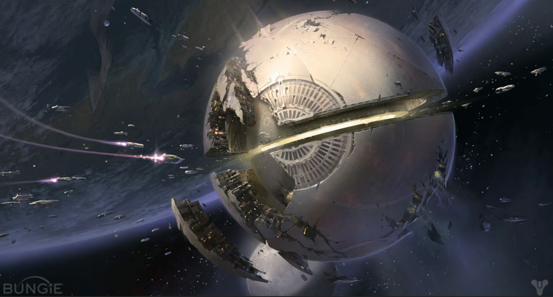 UPDATED: Destiny (Video Game) Concept Art / Bungie / The Superslice