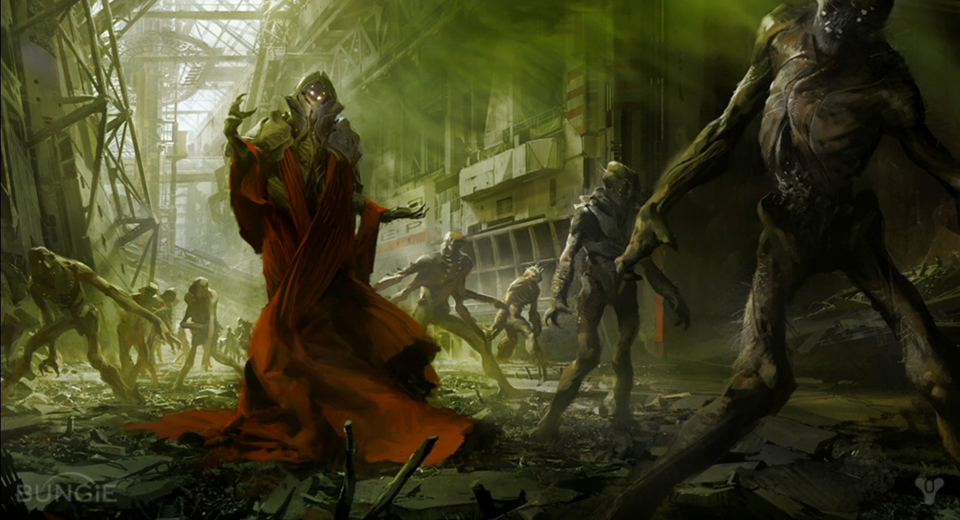 UPDATED Destiny Video Game Concept Art Bungie The