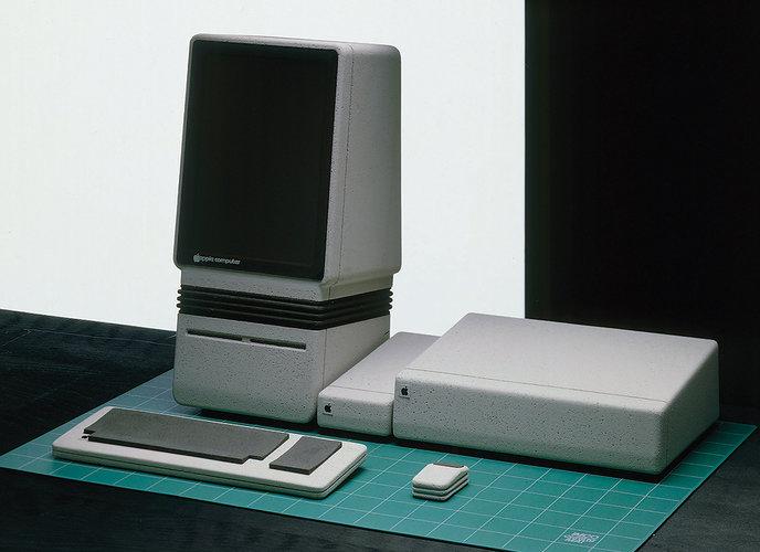 Design Prototypes / Apple x Hartmut Esslinger / The Superslice