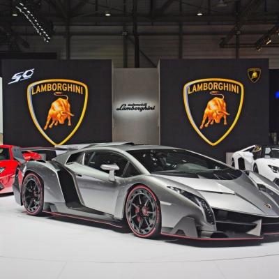 02 Lamborghini Booth - Geneva Motor Show 2013