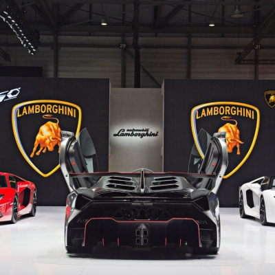 11 Lamborghini Booth - Geneva Motor Show 2013