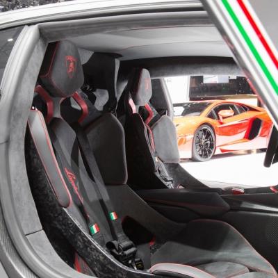14 Lamborghini Booth - Geneva Motor Show 2013