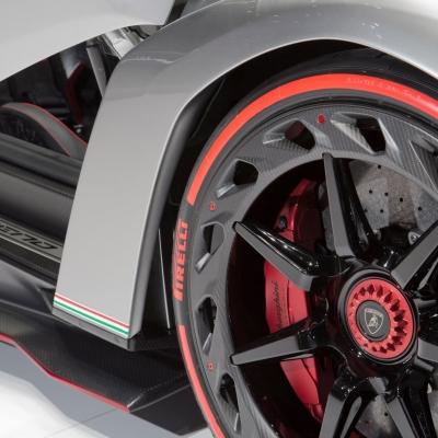 15 Lamborghini Booth - Geneva Motor Show 2013