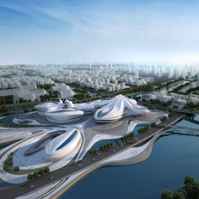 Changsha Meixihu International Culture & Art Centre 01