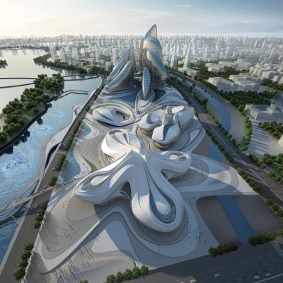 Changsha Meixihu International Culture & Art Centre 02