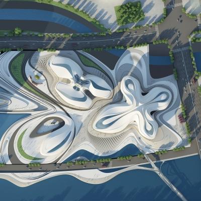 Changsha Meixihu International Culture & Art Centre 03