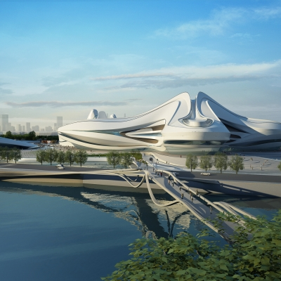 Changsha Meixihu International Culture & Art Centre 04