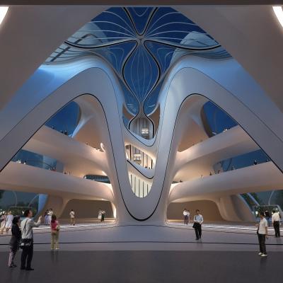 Changsha Meixihu International Culture & Art Centre 05