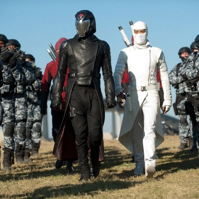 Cobra Commander and Storm Shadow